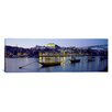 <strong>iCanvasArt</strong> Panoramic Boats Photographic Print on Canvas