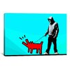 iCanvas Choose Your Weapon Keith Haring lV Graphic Art on Canvas