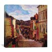 "iCanvas ""A Suburban Street, 1884"" Canvas Wall Art by Paul Gauguin"