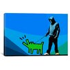 iCanvas Choose Your Weapon Keith Haring Dog lll Graphic Art on Canvas