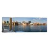 iCanvas Panoramic Boats Moored at a Harbor, Inner Harbor, Baltimore, Maryland 2009 Photographic Print on Canvas