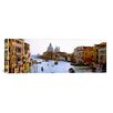 iCanvas Panoramic Grand Canal and Santa Maria Della Salute, Venice, Italy Photographic Print on Canvas