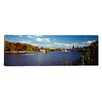 iCanvas Panoramic Boat in the River, Schuylkill River, Philadelphia, Pennsylvania Photographic Print on Canvas