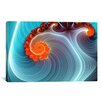 iCanvasArt Digital Blue Lagoon Graphic Art on Canvas