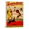 iCanvasArt Barnum & Bailey Circus Vintage Advertisement on Canvas