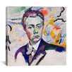 "iCanvasArt ""Autoportrait"" Canvas Wall Art by Robert Delaunay"