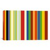 iCanvas Striped Barnum & Bailey Circus Graphic Art on Canvas