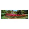 iCanvas Panoramic Azalea and Tulip Flowers in a Park, Sherwood Gardens, Baltimore, Maryland Photographic Print on Canvas