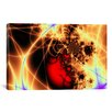 iCanvasArt Digital Beating Heart Graphic Art on Canvas