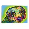 iCanvas 'Beagle' by Dean Russo Graphic Art on Canvas