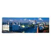 iCanvas Panoramic Buildings at the Waterfront, Moskva River, Moscow, Russia Photographic Print on Canvas