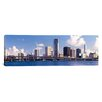 iCanvas Panoramic Buildings at the Waterfront Miami, Florida Photographic Print on Canvas