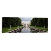iCanvas Panoramic Canal at Grand Cascade at Peterhof Grand Palace, St. Petersburg, Russia Photographic Print on Canvas