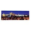 iCanvas Panoramic Charles Bridge, Hradcany Castle and St. Vitus Cathedral , Prague, Czech Republic Photographic Print on Canvas