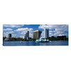 <strong>iCanvasArt</strong> Panoramic Buildings at the Waterfront Lake Eola, Orlando, Florida Photographic Print on Canvas