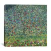 "iCanvas ""Apfelbaum (Apple Tree)"" Canvas Wall Art by Gustav Klimt"