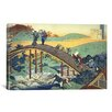 iCanvas 'Ariwara No Narihira Ason' by Katsushika Hokusai Painting Print on Canvas