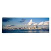 <strong>iCanvasArt</strong> Panoramic Buildings at the Waterfront Elliott Bay, Seattle, Washington State, 1996 Photographic Print on Canvas