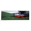 iCanvas Panoramic Antique Gas Truck on a Landscape, Palouse, Whitman County, Washington State Photographic Print on Canvas