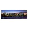 iCanvasArt Panoramic Buildings at the Waterfront, Lake Michigan, Chicago, Illinois, 2011 Photographic Print on Canvas