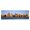 iCanvas Panoramic Buildings at the Waterfront, Manhattan, New York City, New York State Photographic Print on Canvas