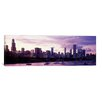 iCanvasArt Panoramic Buildings at the Waterfront, Lake Michigan, Chicago, Illinois Photographic Print on Canvas