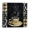"iCanvas ""Cafe Noir II"" Canvas Wall Art by Color Bakery"