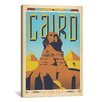 iCanvas Cairo, Egypt by Anderson Design Group Vintage Advertisement on Canvas