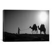 <strong>iCanvasArt</strong> 'Camel Trip, Jordan' by Dan Ballard Photographic Print on Canvas