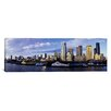 iCanvas Panoramic City at the Waterfront Seattle, Washington Photographic Print on Canvas