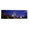 iCanvas Panoramic City at Dusk in Cologne, North Rhine Westphalia, Germany Photographic Print on Canvas