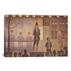 <strong>iCanvasArt</strong> 'Circus Sideshow (Parade de Cirque) 1887-1888' by Georges Seurat Painting Print on Canvas