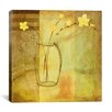 "iCanvas ""Yellow Flowers in Vase"" Canvas Wall Art by Pablo Esteban"