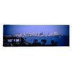 <strong>iCanvasArt</strong> Panoramic City at The Waterfront, San Diego, San Diego Bay, San Diego County, California Photographic Print on Canvas
