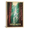 iCanvasArt 'Yosemite National Park' by Anderson Design Group Vintage Advertisement on Canvas