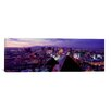 iCanvas Panoramic City Lit Up at Dusk, Las Vegas, Clark County, Nevada Photographic Print on Canvas
