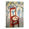 iCanvasArt 'Chair with Peaches' by Henri Matisse Painting Print on Canvas
