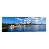 iCanvasArt Panoramic Boston, Massachusetts Photographic Print on Canvas