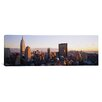 iCanvas Panoramic Buildings in a City, Manhattan, New York City, New York State Photographic Print