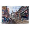 iCanvasArt 'Boston' by Stanton Manolakas Painting Print on Canvas