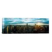 iCanvas Panoramic Buildings in a city, Empire State Building, Manhattan, New York, 2011 Photographic Print on Canvas