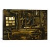 <strong>iCanvasArt</strong> 'A Weaver's Cottage' by Vincent van Gogh Painting Print on Canvas