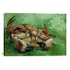 iCanvas 'A Crab on its Back' by Vincent van Gogh Painting Print on Canvas