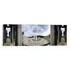 iCanvas Panoramic National World War II Memorial, Washington, D.C Photographic Print on Canvas