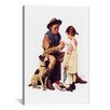 iCanvas 'Young Doctor' by Norman Rockwell Painting Print on Canvas