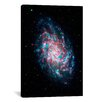 iCanvas Astronomy and Space Young Galaxy M33 (Nasa) Photographic Print on Canvas
