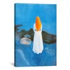 iCanvas 'Young Woman on the Beach' by Edvard Munch Painting Print on Canvas