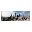 iCanvas Panoramic Buildings in a City, St. Catherine's Church, Hauptwache, Frankfurt, Hesse, Germany, 2010 Photographic Print on Canvas
