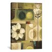 iCanvasArt '60s Bloom' by Lisa Audit Painting Print on Canvas
