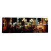 iCanvasArt Panoramic Lit Up at Night, Broadway, Manhattan, New York City Photographic Print on Canvas